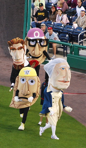 Pittsurgh's Racing Pierogies at Nationals Park