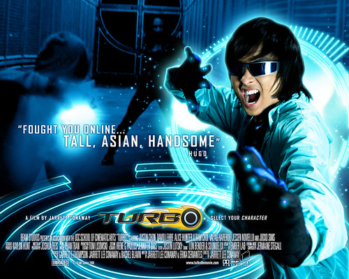 Justin Chon as Hugo Park in Turbo
