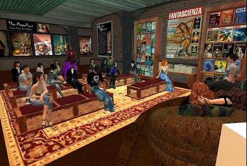 La serata cyber al Delos Bookclub