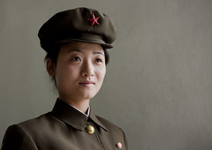 North Korea (Eric Lafforgue) Tags: pictures woman soldier photo mujer war asia femme picture korea kimjongil cap asie coree soldat northkorea pyongyang dprk coreadelnorte kimilsung nordkorea    coredunord coreadelnord  northcorea coreedunord  insidenorthkorea  rpdc  coriadonorte  northkoreaarmy kimjongun coreiadonorte