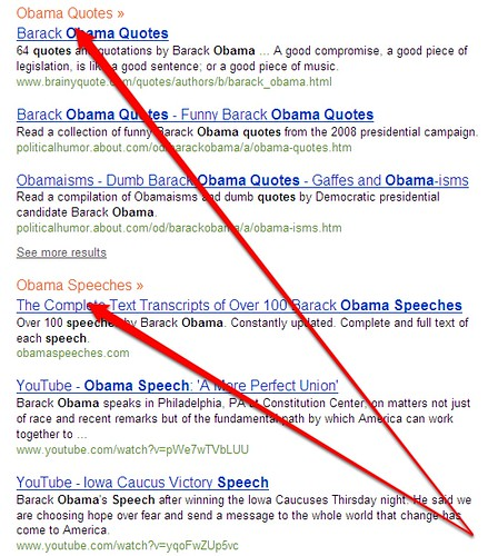 Obama Categories At Bing