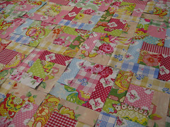 Log Cabin Quilt Blocks (ellis & higgs) Tags: red ikea garden studio log cabin tanya quilt heather pop gingham fabric bailey block hydrangea patchwork darla whelan maywood rosali