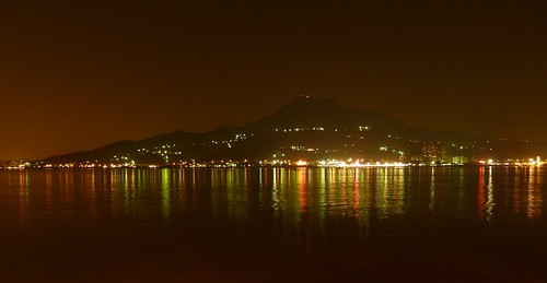 Night view from Danshui