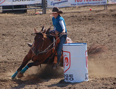 Barrel Racing Ramona Rodeo