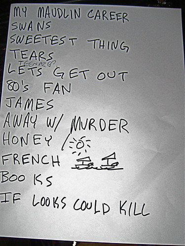 Camera Obscura setlist in Minneapolis 5/30/09