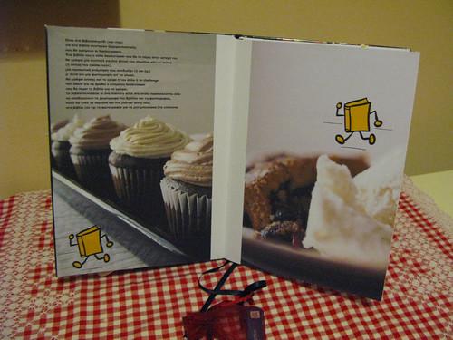 Cookbookcrossing gamering - front inner cover
