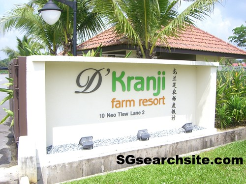 KRANJI FARM RESORT at Lim Chu Kang | SGsearchsite