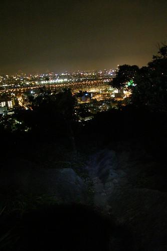 17.從金面山眺望台北盆地