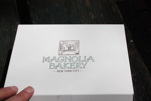 Box from Magnolia Bakery