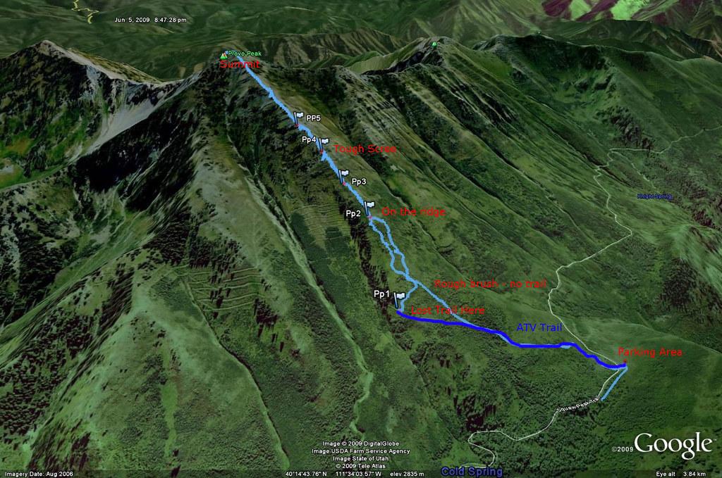 Provo Peak Route