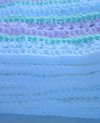 Frosted Cupcake Crochet Baby Blanket 4 (DonidoDesigns) Tags: pink baby white green handmade crafts crochet knit craft yarn lap homemade blanket afghan etsy knitted crocheted throw crafting cic lapghan cicteam craftingincolor
