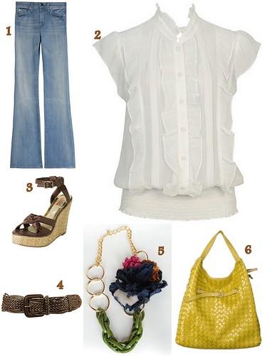 blusa blanca, forever21