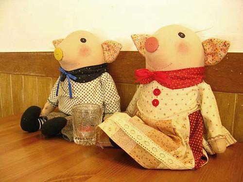 可愛的小豬couple