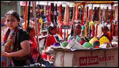 mega mart (sami kuosmanen) Tags: old travel people woman india photography asia foto bazaar karnataka hampi unseen kishkindha kishkinda unseenindia