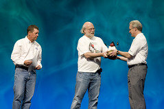 "Randy Bryant, Scott McNealy and James Gosling, General Session ""Java: Change (Y)Our World"" on June 2, JavaOne 2009 San Francisco"