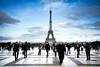 Viewpoint Ahead (gms) Tags: city paris france perfect view capital eiffeltower pedestrians palaisdechaillot trocadéro
