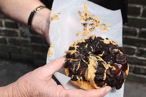 Ol' Dirty Bastard doughnut from Voodoo Doughnut