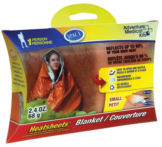 Adventure Med. Kit Heatsheets Emergency Blanket