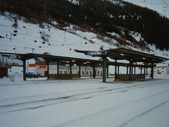 Train Station in St Anton