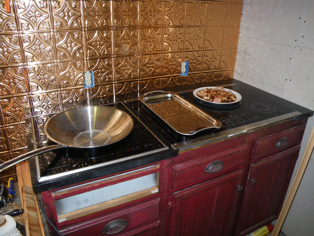 New/Old Cooktop