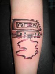 Cassette Tape (Shannon Archuleta) Tags: sanfrancisco tattoo retro tattoos cassette cassettetape shannonarchuleta