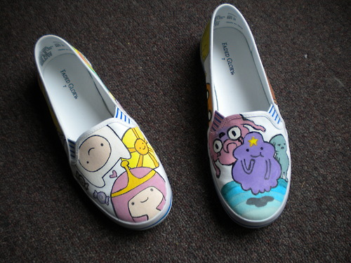 Adventure Time Shoes