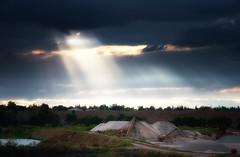 Blue Sky.jpg (Tonym1) Tags: blue sunset sky water clouds sunrays
