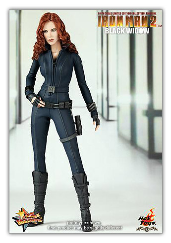 Black Widow de Iron Man 2