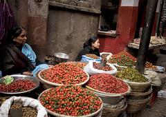 scelta4 - Asan ( Kathmandu - Nepal ) (nepalbaba) Tags: nepal chili market kathmandu 2008 mercato peperoncini bazar asan paololivornosfriends nepalbaba quartierediasan