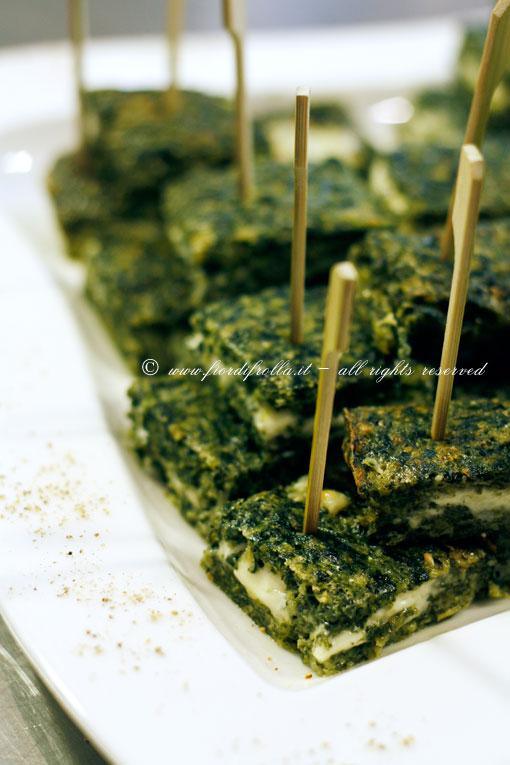 Sformato di spinaci alla bolognese