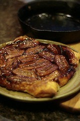 101-Banana Tart (cinnachick) Tags: banana delicious bananas castiron bananatart everythingcastiron