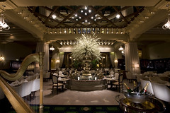 The Palm Court at The Drake Hotel (The Drake Hotel Chicago) Tags: chicago afternoontea palmcourt drakehotel drake11 dopplr:stay=l231