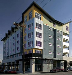 Seattle's Denny Park Apartments (by: Runberg Architecture, via Low Income Housing Institute)