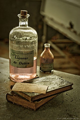 L'amphitheatre (never ends) Tags: old pink france rose hospital table death book bottle flask decay amphitheatre abandon urbanexploration hopital livres abandonned liqueur morgue wasteland bouteille oldbook urbex mortuary dakin elitephotography fioles