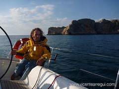Virando las Islas Medas