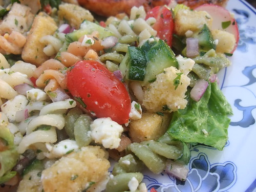 Fatoush Pasta Salad