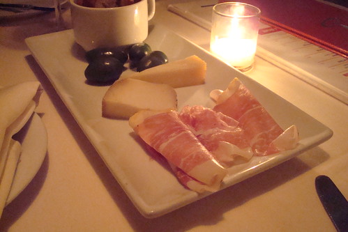 Spain Platter: Pata Cabre, Manchego, Serrano Ham and Spanish Olives