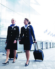 Finnair stewardesses (myfreeco) Tags: finnair stewardess flightattendant