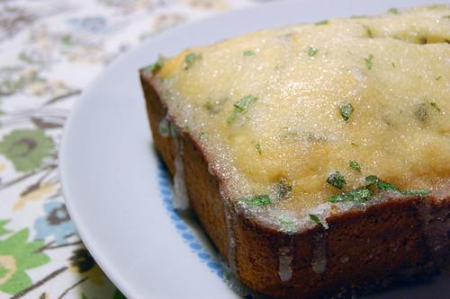 Bake Off: Lemon Verbena Bread