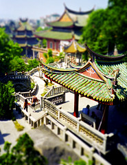 Xiamen-temple (jssutt) Tags: china getty xiamen gulangyu gettyimages amoy faketiltshift nanputuosi earthasia artphotographs chinesetravelphotographs sourthernbuddhisttemple jssutt jeffsuttlemyre