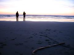 Manzanita Sunset (orianaq) Tags: sunset beach manzanitaoregon