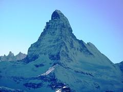 The Matterhorn (chrisgandy2001) Tags: mountain snow ski switzerland skiing bluesky snowboard zermatt matterhorn bluebird skitrips cervino sweiss aplusphoto gettyvacation2010