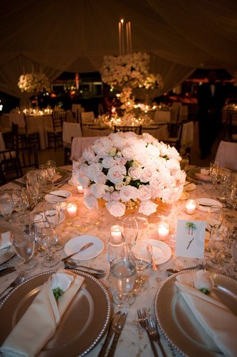 Wedding Table Setting - Luxury Interior Home Design