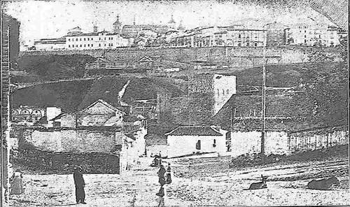 Vista del Paseo del Miradero en 1915. Foto de Ventura S. Comendador