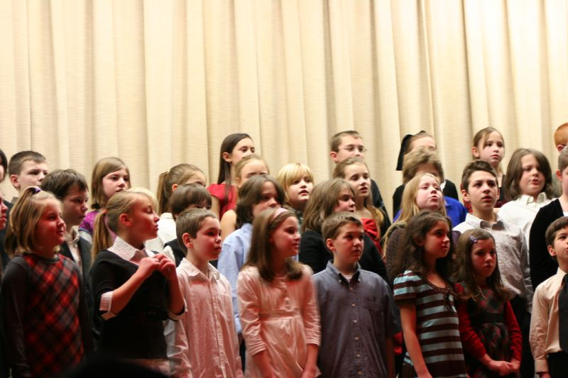 Wesley's holiday concert