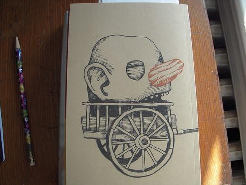 Scarecrow, John Casey, back cover