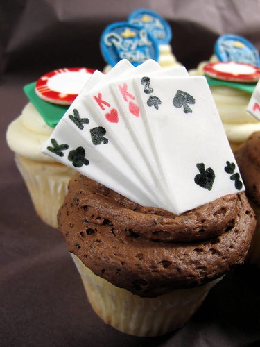 Royal Felt.com Poker Cupcakes