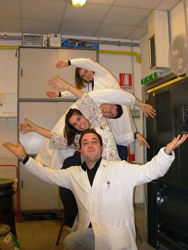 Gli amici del laboratorio