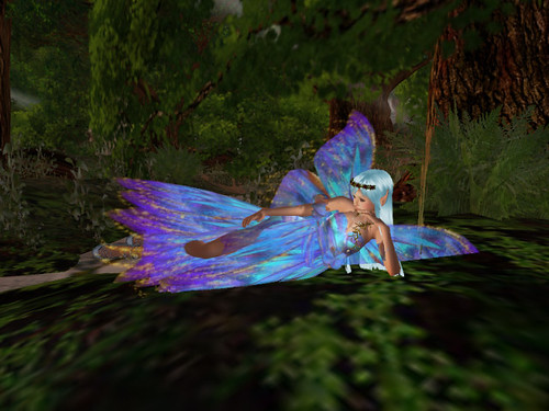 fairy in woods