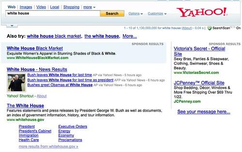Yahoo - White House
